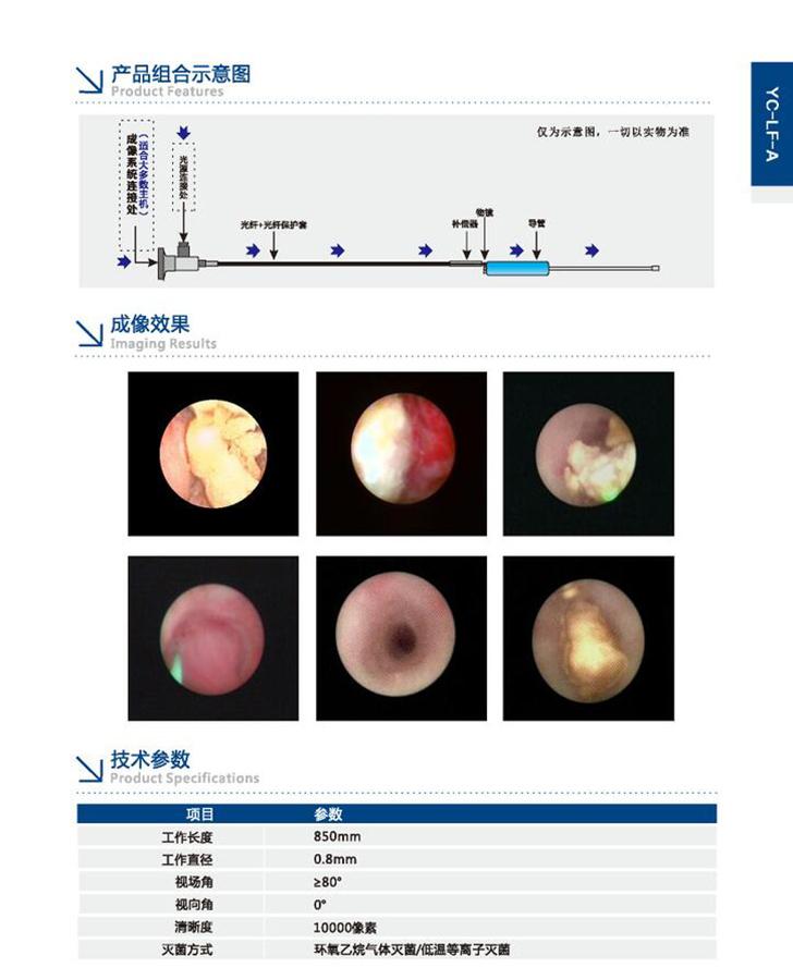光纖內窺鏡YC-LF-A