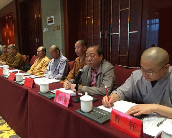 扶贫助困 济世利人 —— 纯闻大和尚出席江西省佛教协会会长会议