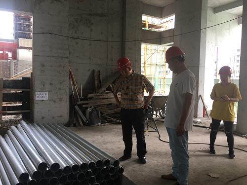 张远鹏董事长赴汉中、西安项目检查指导工作