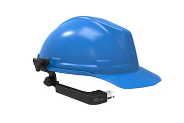 Hard hat single eye