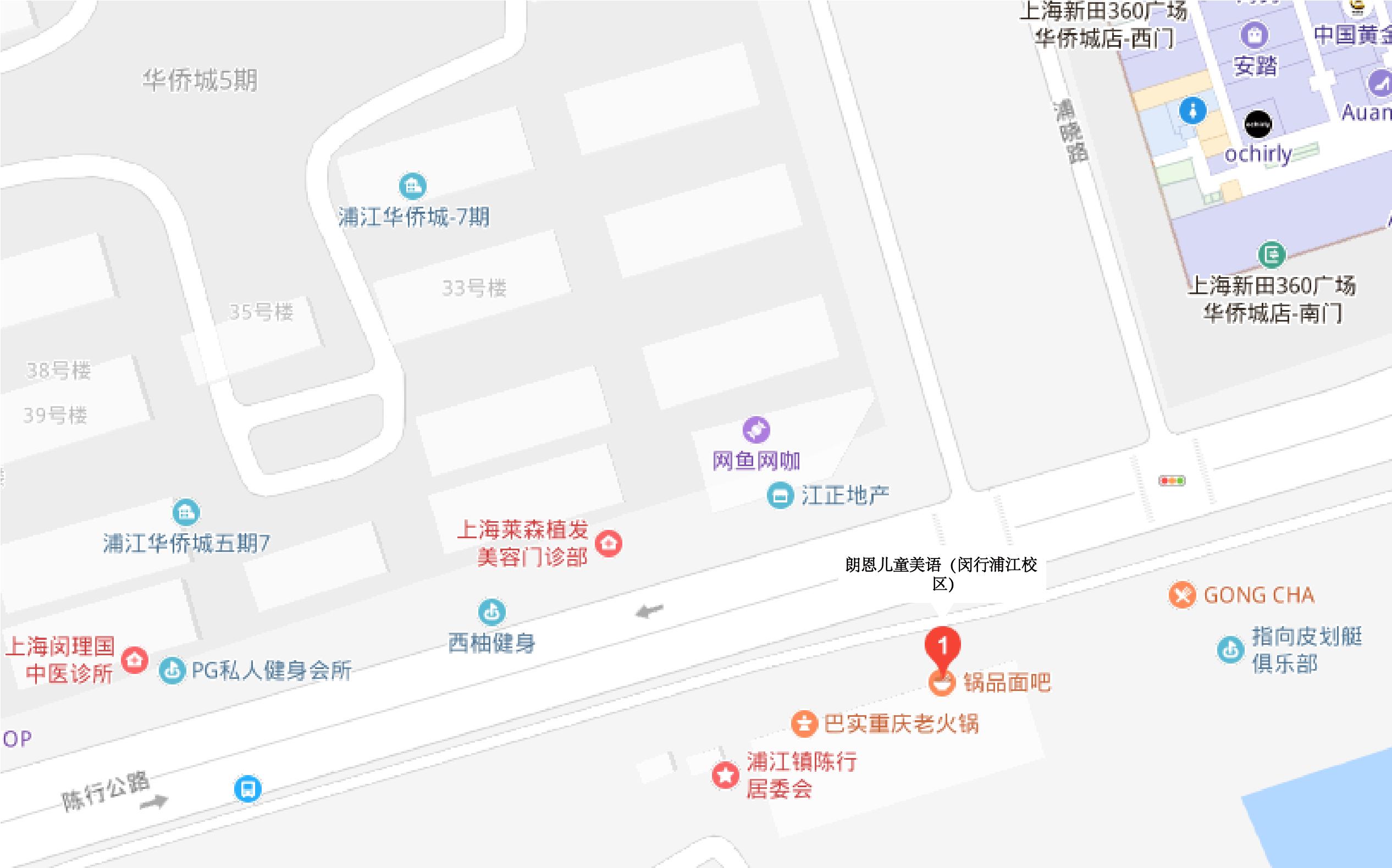 上海闵行浦江校区