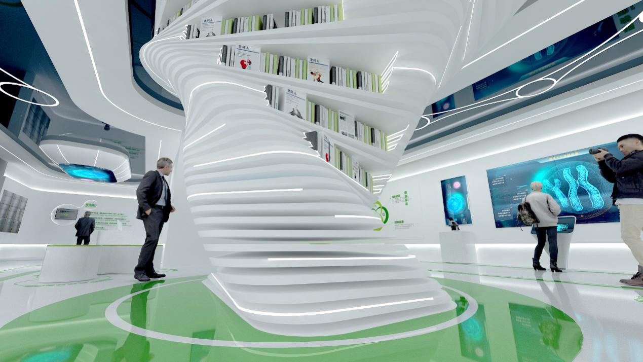"""北科中国龙头生物科技公司""""深圳综合细胞库""""的展馆设计"""