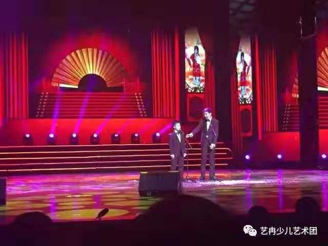 学员参加2017年 中国青少年网络春晚