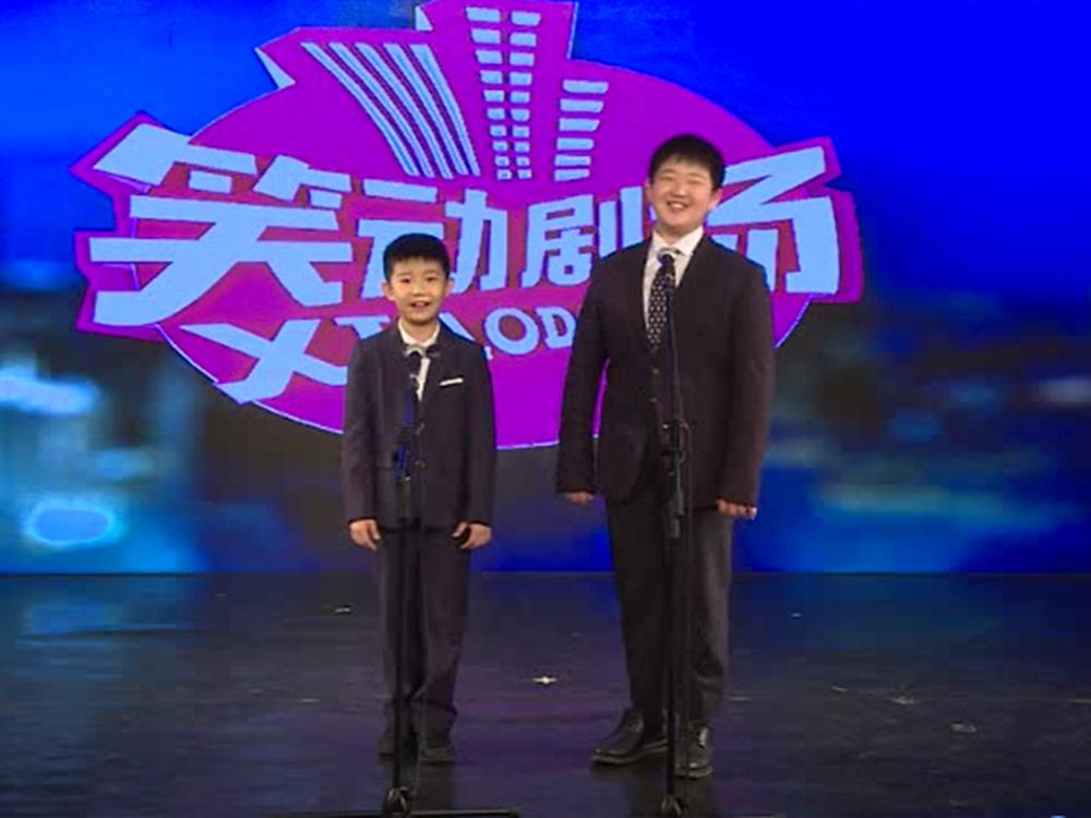 学员参加北京电视台 《笑动》栏目录制