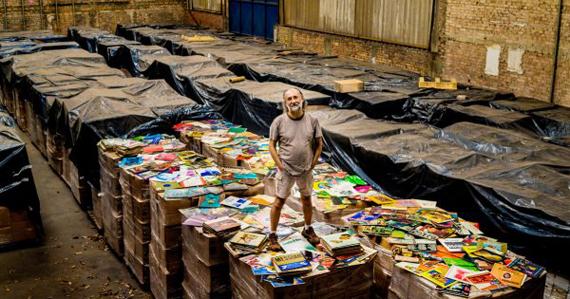 世界上拥有黑胶唱片最多的人