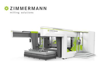 兹默曼Zimmermann卧式翻板加工中心