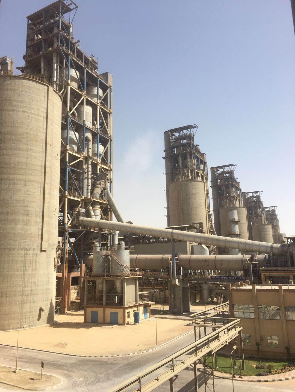 埃及GOE   Beni Suef 6×6000tpd水泥生产项目