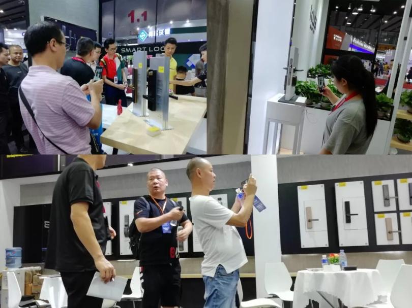 强势出击!KUB智能锁携多款重磅新品惊艳亮相广州建博会!