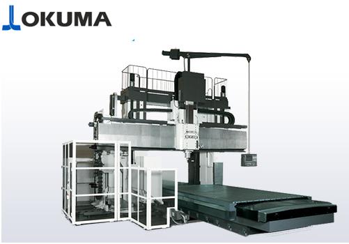 OKUMA5面加工龙门式加工中心