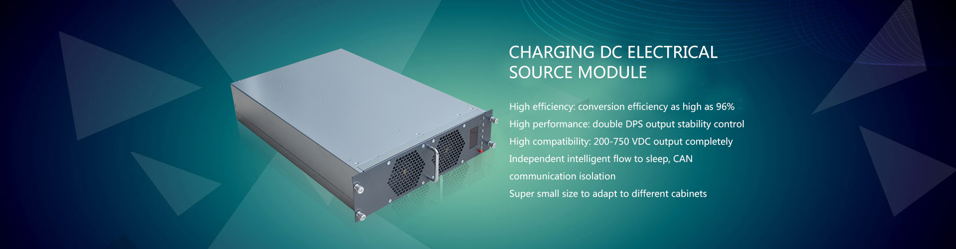 Charging DC electrical source module
