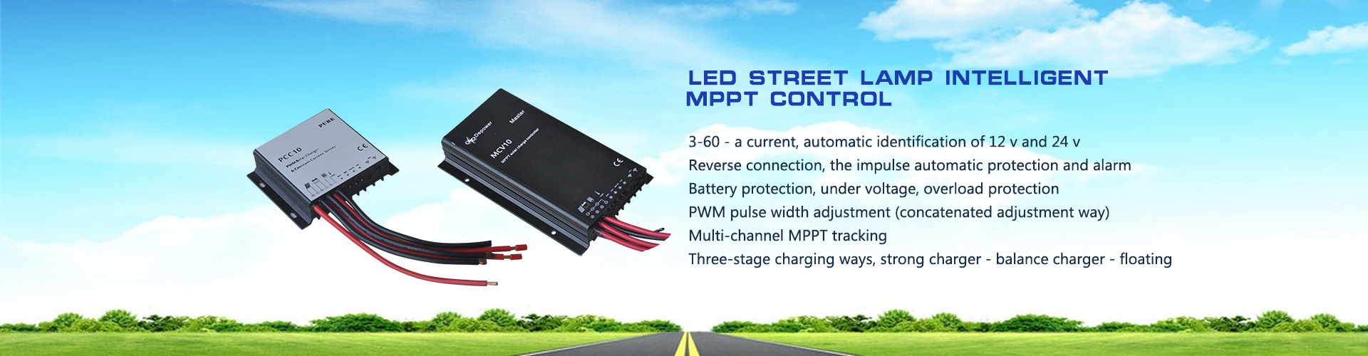 LED street lamp intelligent