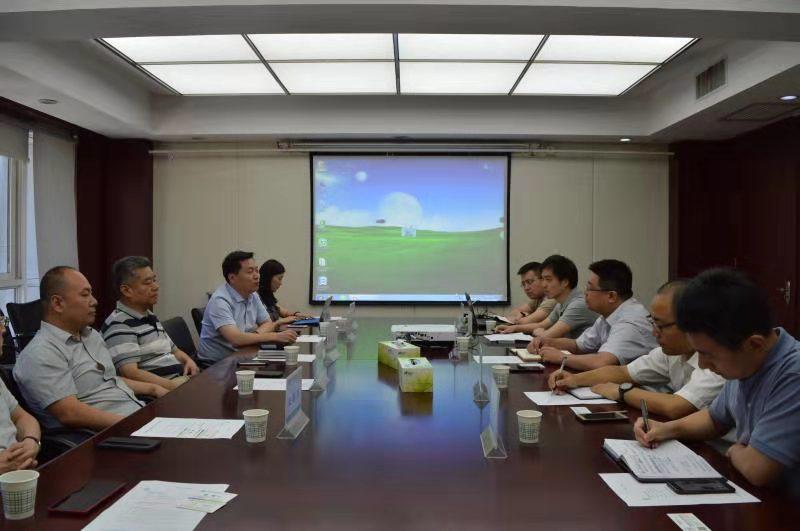 正常中国促进网党委书记张海祥一行来ManBetX体育座谈交流
