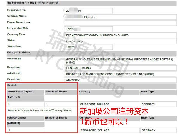 全面解答:新加坡公司注册资本的那些事(上篇)