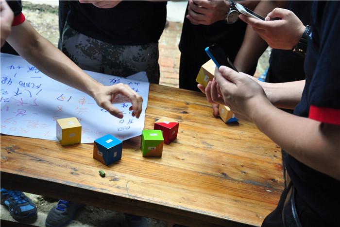 团队协作拓展项目:超级骰子