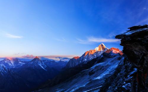 四姑娘山穿越长坪沟毕棚沟+二峰登山 7天