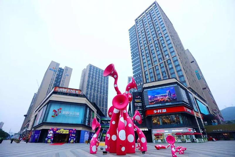 无人值守创造停车场新生态,重庆旭辉乐活城的智慧出行!