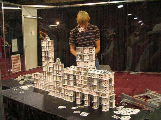 """团队互动小游戏""""垒扑克牌""""游戏介绍"""