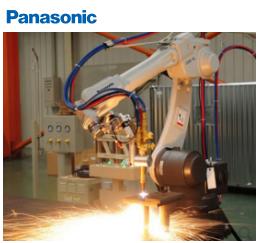 Panasonic火焰切割机器人
