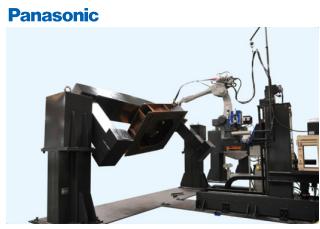 Panasonic 中厚板焊接机器人