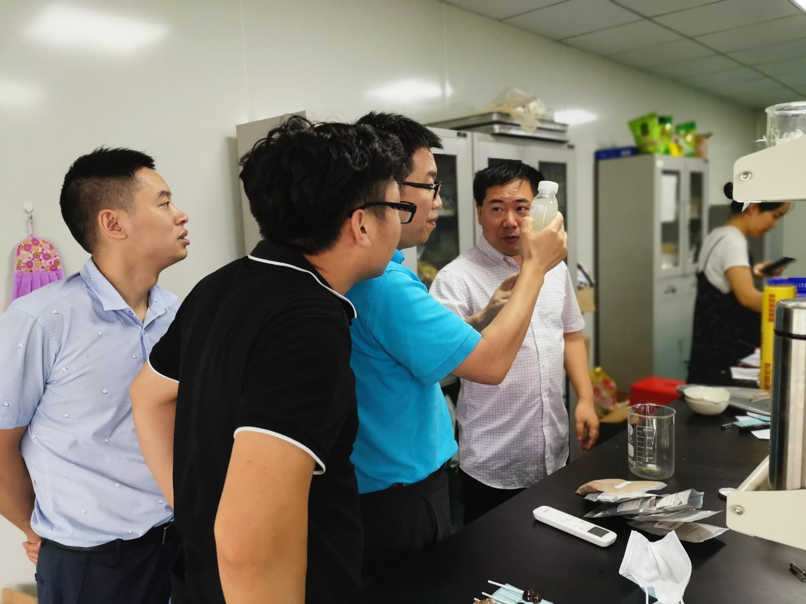 公司对克高源片剂合作厂家进行考察调研