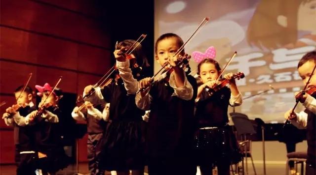 学习小提琴让孩子懂得坚持学会美的听觉艺术