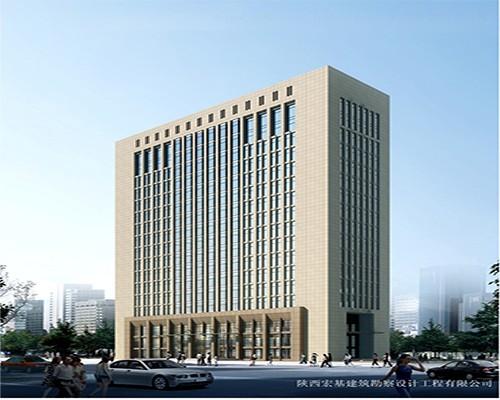 中国人寿咸阳分公司综合办公楼