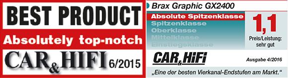 化繁为简的极致后级 德国BRAX GX2400四声道功放