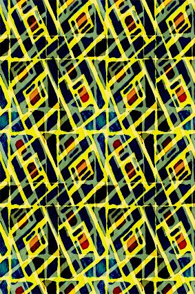 斑斓线条直角网