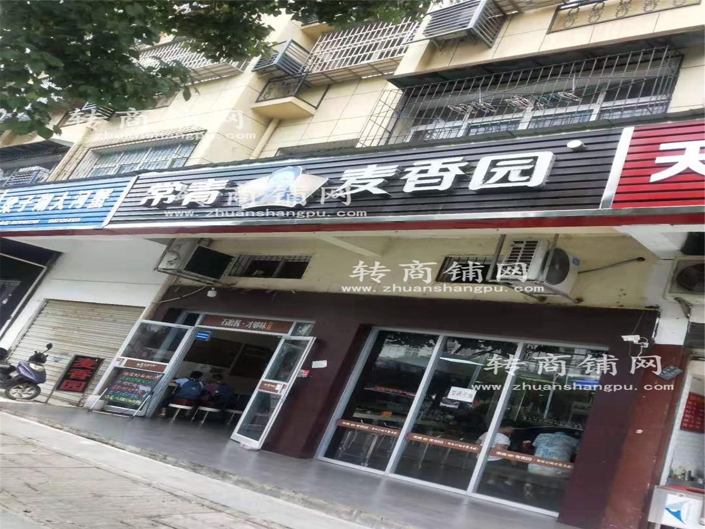 江夏大型小区临街品牌餐饮店急转