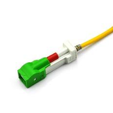 Auto Shutter SC/APC to SC/APC Simplex G652D SM PVC (OFNR) 2.0mm
