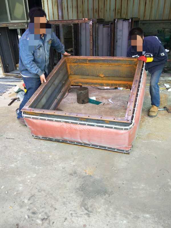 耐高温非金属织物补偿器中夹丝玻璃纤维布性能