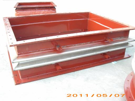 客户定制水泥厂专用金属波纹补偿器膨胀节