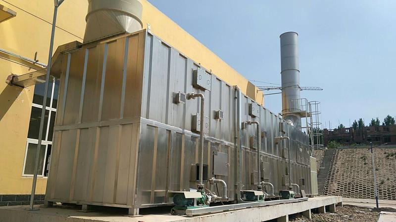 曲陽縣再生資源綜合開發示范基地建設項目設備采購案例