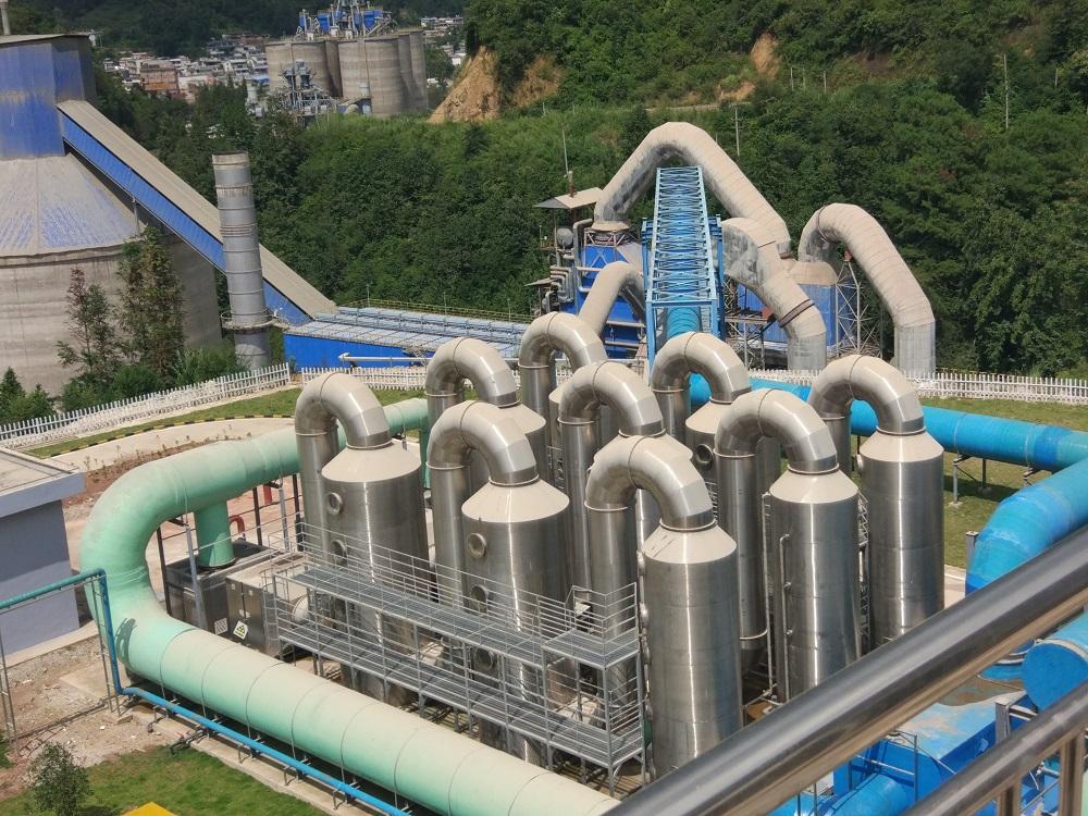 鳳慶云水環保工程有限公司利用水泥窯協同處置城鄉生活垃圾項目案例