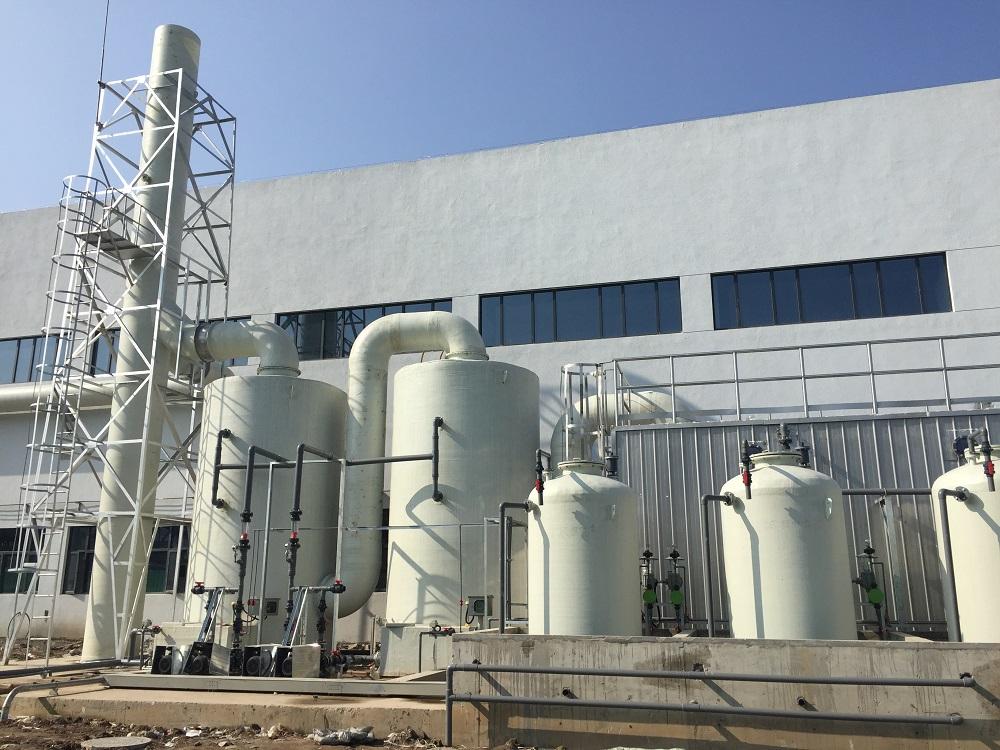 寧波市廚余垃圾處理廠污水處理和除臭系統設備供貨及安裝項目除臭裝置采購