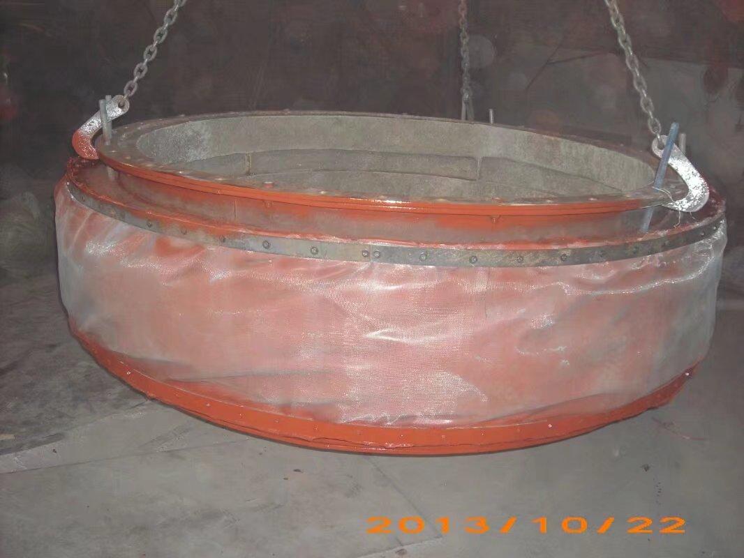 风道纤维织物补偿器的构造