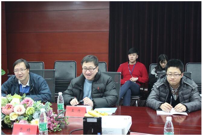 中国科学院信息工程研究所所长孟丹来我司考察交流