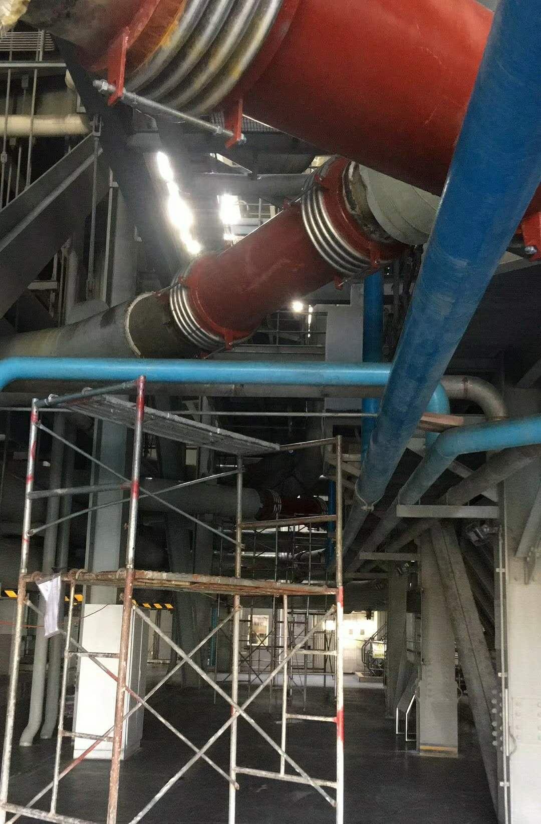 关于轴向型补偿器对管系及管架设计的要求