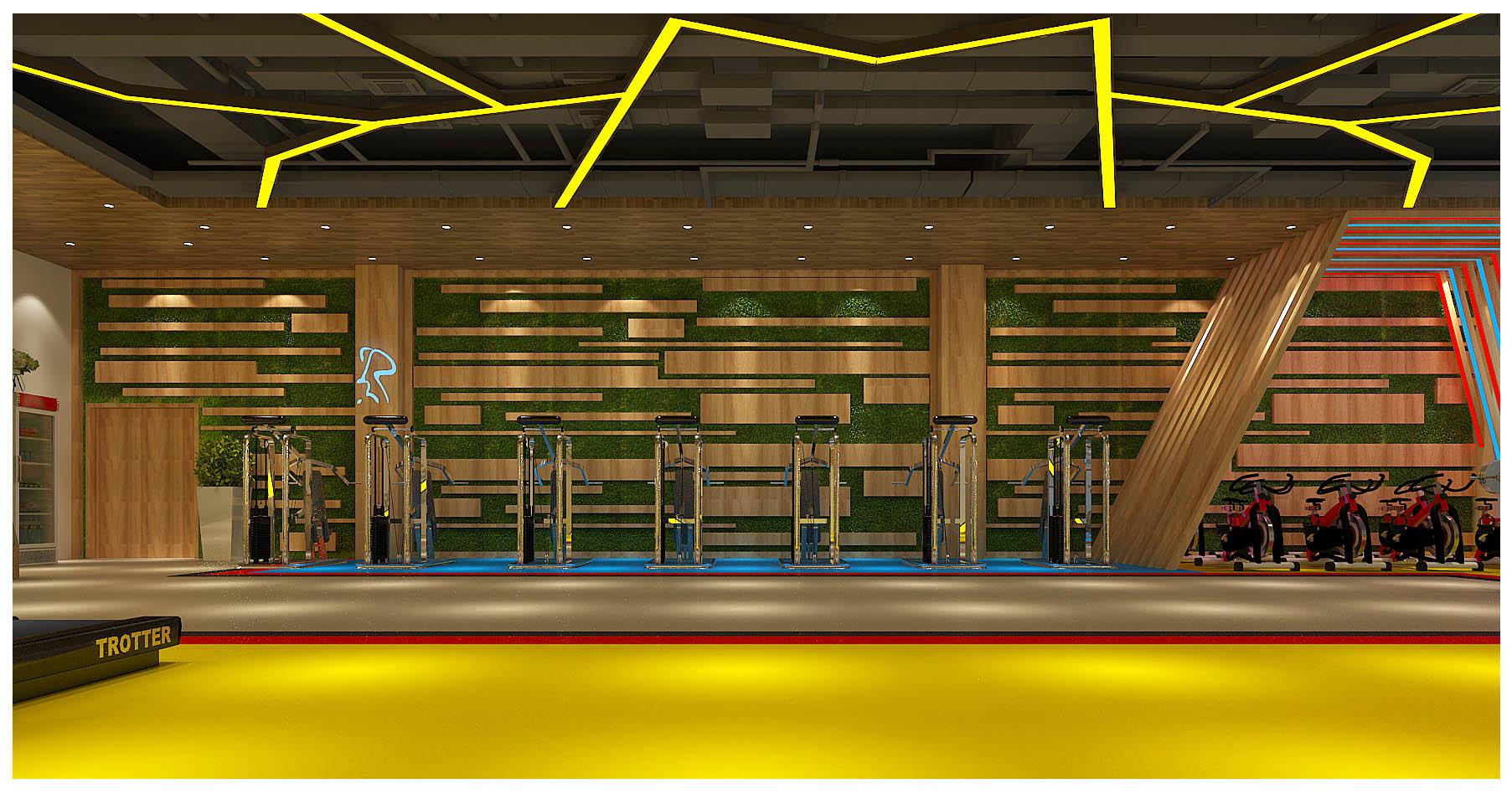 富士康活动中心健身房