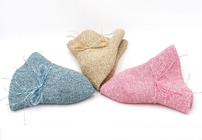 莫兰迪系列可折叠草帽-季节潮品