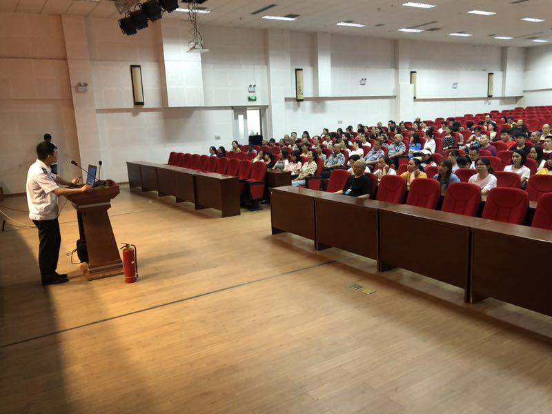 广汉市人民医院开展消防知识培训