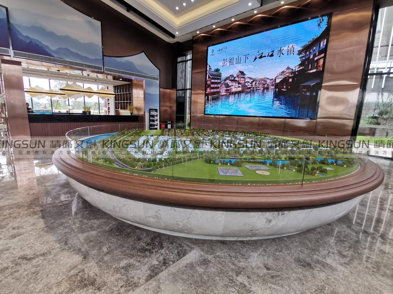 雷竞技最新版数字模型再出精品|江口未来城沙盘模型赏析
