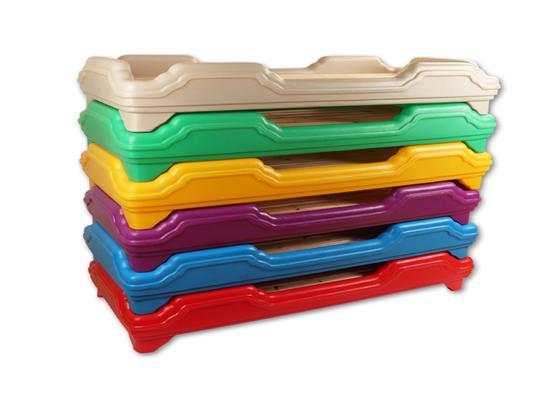 七彩-整体塑料床