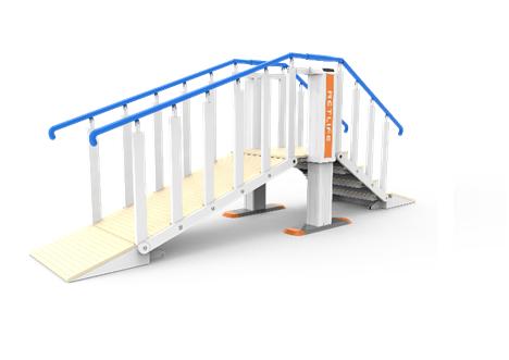 智能阶坡步行训练系统