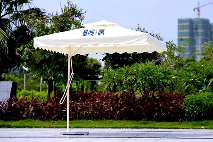 波浪边扳手广告伞