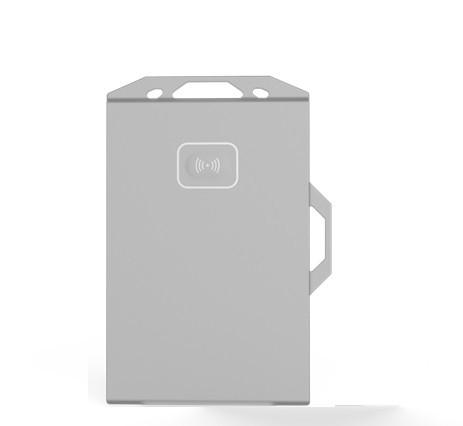 DL-T709型UWB胸卡电子标签