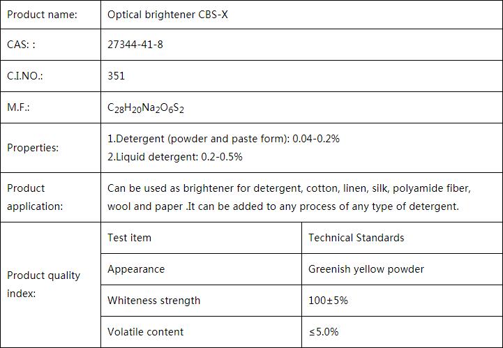 Optical Brightener CBS-X