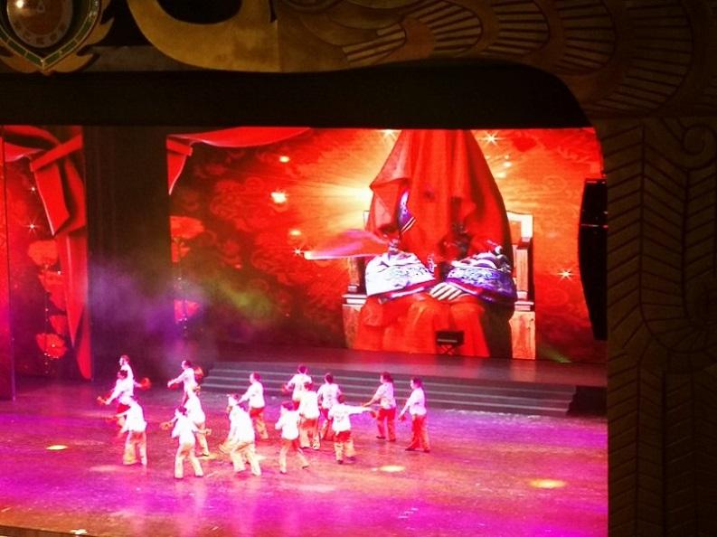 西双版纳原始森林公园剧院