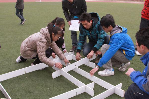 团队沟通拓展项目:搭书架