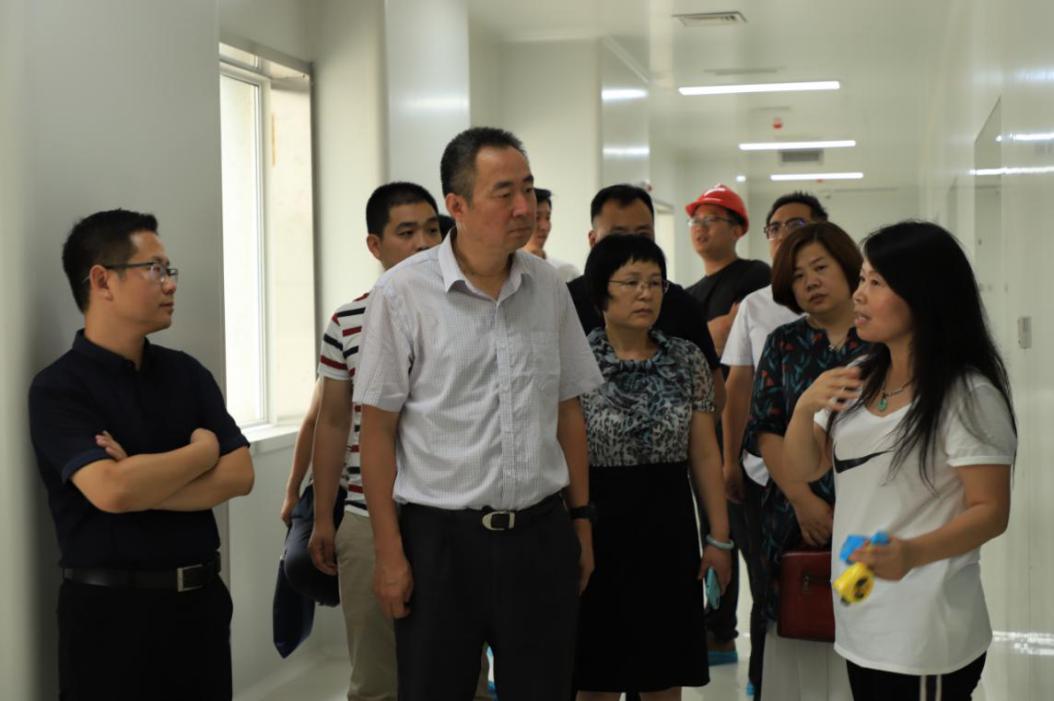 雁塔区副区长吕东国一行到bob棋牌生物科技产业园考察调研